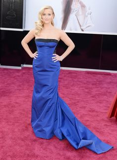 Reese Witherspoon in Louis Vuitton.  Oscars 2013 Red Carpet Photos: See All The Dresses From The Academy Awards (PHOTOS)