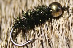 Fly Tying the Peacock Nymph