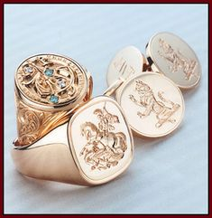 John. W. Thompson and Son are master engravers, they specialise in engraved wedding and engagement rings.