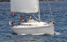 7 great cruising yachts for less than £50,000 « YachtWorld UK Used Sailboats, Boating Tips, Boating Outfit, For Less, Deep Sea, Yachts, Sailing, Candle, Ship