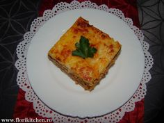 Musaca de cartofi cu carne – Flori's Kitchen Lasagna, Carne, Quiche, Breakfast, Ethnic Recipes, Morning Coffee, Quiches, Lasagne