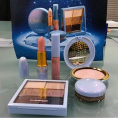MAC Cosmetics Disney Cinderella Collection - blue packaging