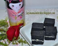 Food@Home Sweet Home: Bamboo Charcoal Ogura Cake #5 黑炭相思蛋糕
