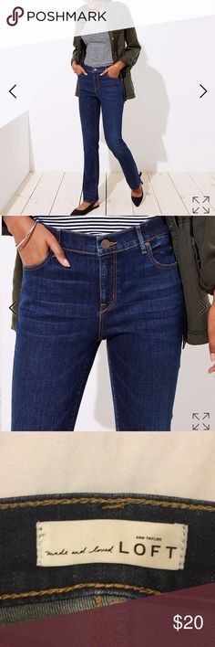 967032a0427 Loft modern bootcut jeans EUC and barely worn. Sadly I ve gained a little