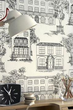 50s-wallpapaer-Little-Greene #wallpaper #MaisonetObject #LittleGreene #cartedaparati