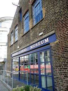 London Canal Museum Exterior by EZTD, via Flickr