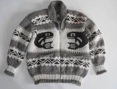 Cowichan sweater from the First Nations People of British Columbia, Canada xx cowichan salish cardigan sweater knitting colourwork history Prep Style, My Style, Cowichan Sweater, Indian Patterns, Boys Sweaters, Knit Picks, Sweater Making, Pullover, Knit Jacket