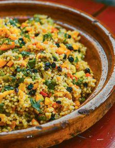 Recept: Couscous van nonkel Jan Taco Wraps, Quinoa Tabbouleh, Couscous, Risotto, Macaroni And Cheese, Veggies, Vegetarian, Pasta, Quiche