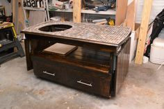 How to build Big Green Egg Large Table Plans PDF woodworking plans Big green egg large table plans Big Green Egg Custom Table Like and good egg 4 It s almost Halloween and if you re cooking on your EGG Greelg The