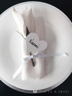 4+St.+Herzen+Namenschilder+Tischkarte+Hochzeit+von+Crafts+&+Deco+auf+DaWanda.com