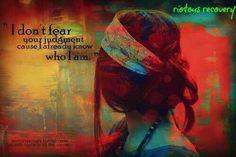 Fear judgement