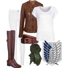 Survey Corps casual cosplay