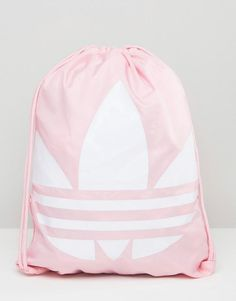 Adidas | adidas Originals Drawstring Backpack With Trefoil Logo at ASOS