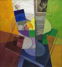 Gino Severini  Italian, 1883–1966, Still Life (Centrifugal Expansion of Colors)