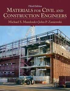 [Solution Manual] [Instructor's Manual] Materials for Civil and Construction Engineers, Michael S. Mamlouk, John P. Zaniewski, Instructor's Solutions Manual Civil Engineering Books, Engineering Technology, Mechanical Engineering, Electrical Engineering, Engineering Projects, Civil Construction, Construction Materials, Construction Business, Banks