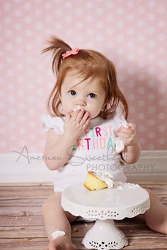 ©2014 American Sweetheart Photography www.americansweetheartphotography.com one year old girl birthday