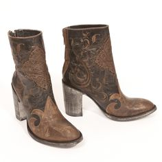 Wanda LS boots in chocolate by Old Gringo - #CowgirlChic