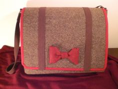 Eleventh Doctor Messenger Bag by WhimsicalWhatnot on Etsy, $68.00