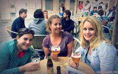 Bier proevende bloggers in Brussel