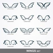 Wings collection (set of wings) — Illustration #25694825