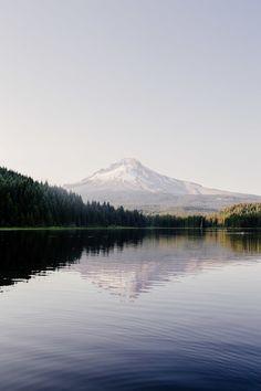 The Perfect Sunset at Trillium Lake, Oregon — Local Wanderer