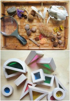 Reggio Activities for Toddlers - lots of ideas for toddler learning centers