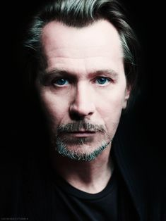 I love this awesome photo of Gary Oldman, handsome and so very talented!
