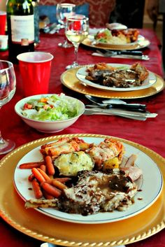Christmas Day Dinner – Simply Taralynn