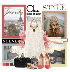 """953"" by anastasiya-fomina-nastya ❤ liked on Polyvore featuring Tiffany & Co., INC International Concepts, Chanel, Erickson Beamon, Alexander McQueen, Giuseppe Zanotti, women's clothing, women, female and woman"