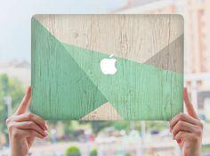 MacBook Air 13 Hard Case Green Wood geometry MacBookPro Retina 15 Hard Clear Plastic Case Macbook Air 11 158