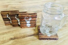 A personal favorite from my Etsy shop https://www.etsy.com/listing/594445267/dear-head-pallet-wood-coasters-set-of-4