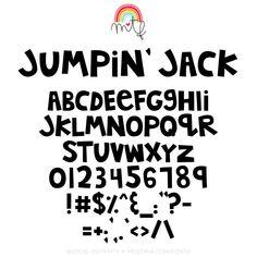 MTF Jumpin' Jack – MissTiina.com   MTFonts Bullet Font, Teacher Fonts, Font Search, Journal Fonts, Free Fonts Download, Class Door, Open Type, Board Ideas, Bulletin Board