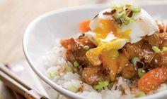 | Le Poulet du Québec Mashed Potatoes, Grains, Ethnic Recipes, Food, Inspiration, Honey, Seasonal Recipe, Asian Cuisine, World Cuisine