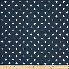 Premier Prints Mini Swiss Cross Premier Navy White - Pillow Covers - Custom Sizes Available - Zipper Navy Pillows, Accent Pillows, White Pillow Covers, Duvet Covers, Premier Prints, Navy Blue Background, Pillow Fabric, Fabulous Fabrics, Home Decor Fabric