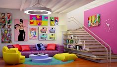 Decoración estilo Pop Art