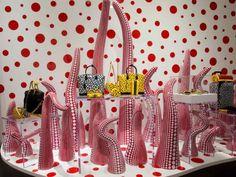 Shop Windows by Yayoi Kusama for Louis Vuitton