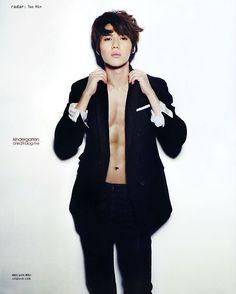 SHINee Tae Min - Nylon Magazine September Issue '12