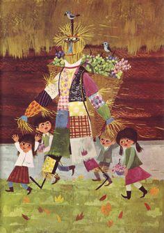 Ančka Gošnik-Godec  from Za Lahko Noč by Ela Peroci (Mladinska Knjiga, 1964)
