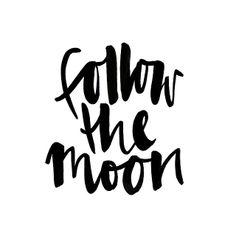 follow the moon #jasminedowling