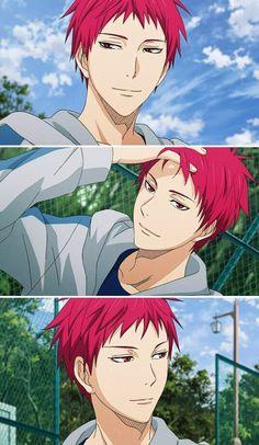 Akashi,he's seriously cute ❤️ Aomine is my favourite character but Akashi is close to my second behind Kagami Gaara, Itachi, Akashi Kuroko, Akashi Seijuro, Manga Anime, Manga Art, Hisoka, Kuroko No Basket Characters, Kiseki No Sedai