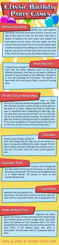 http://www.stay-a-stay-at-home-mom.com/free-birthday-games.html Birthday Party Games