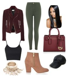 """""""Untitled #8"""" by ylonisgrant on Polyvore featuring Balenciaga, Topshop, River Island, Miss Selfridge, Michael Kors, Vianel, women's clothing, women, female and woman"""