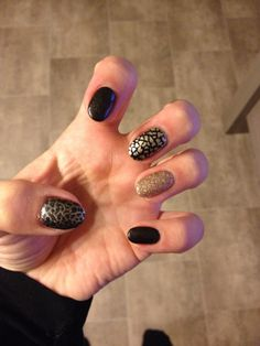 New year nails! Love it