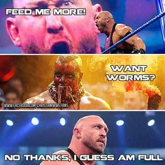 Thanks, but no thanks! #WWE