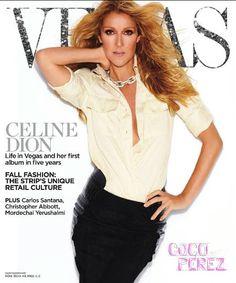 White shirt & Celine Dion