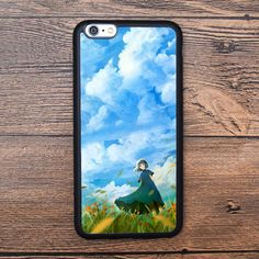 Sky and Wind Girl Case For IPhone