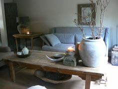 1000 images about stoer en sober on pinterest rustic style primitive dining rooms and - Binnen deco ...