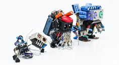 robots from old electronic parts - Google Search