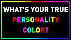 Quizzes, Personality, Color, Colour, Quizes, Colors