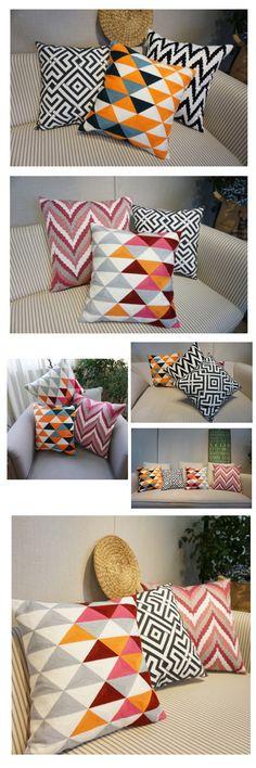 Decorative Cotton Throw Pillow, Cotton Pillow Cover, Sofa Pillows, Home Decoration - JudeBuxom. Couch Pillow Covers, Couch Pillows, Sofa Throw, Canvas Paintings For Sale, Painting Canvas, Cotton Pillow, Decorative Throw Pillows, Decoration, Home Decor